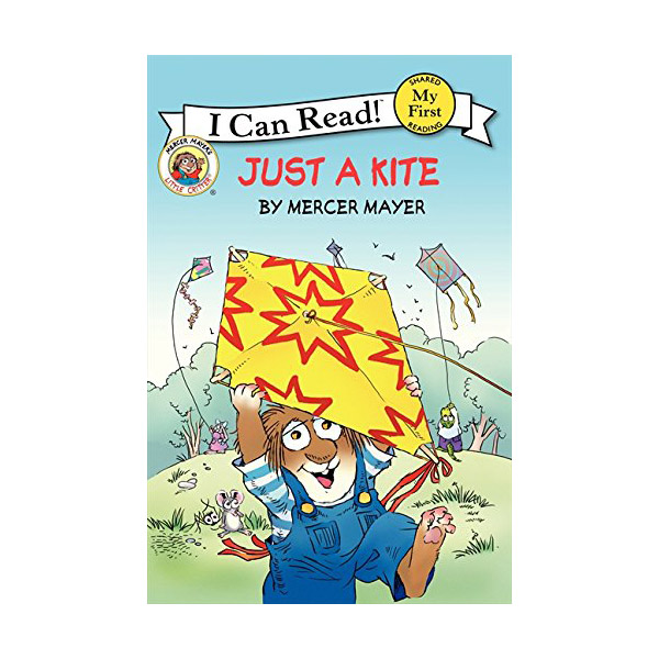 RL 1.5 : My First I Can Read : Little Critter : Just a Kite (Paperback)