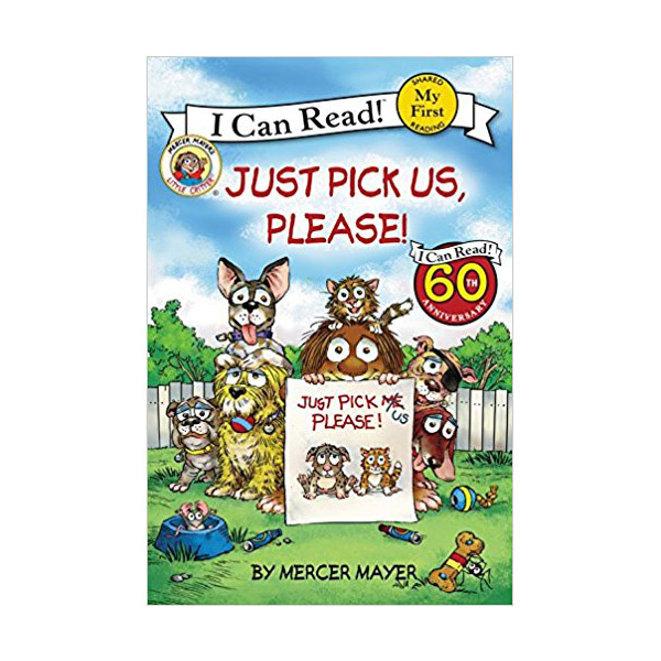 RL 1.5 : My First I Can Read Series : Little Critter : Just Pick Us, Please! (Paperback)