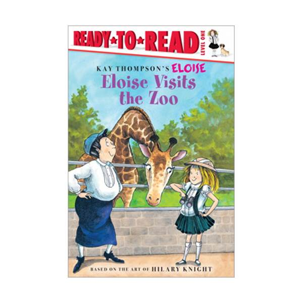 RL 1.5 : Ready To Read 1 : Eloise Visits the Zoo(Paperback)