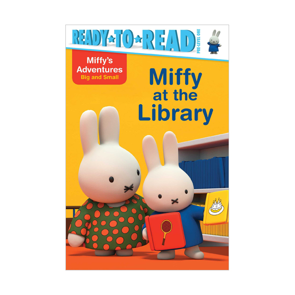 RL 1.5 : Ready To Read Pre : Ready to Go : Miffy at the Library (Paperback)