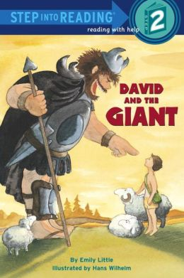 RL 1.5 : Step Into Reading 2 : David and the Giant (Paperback)