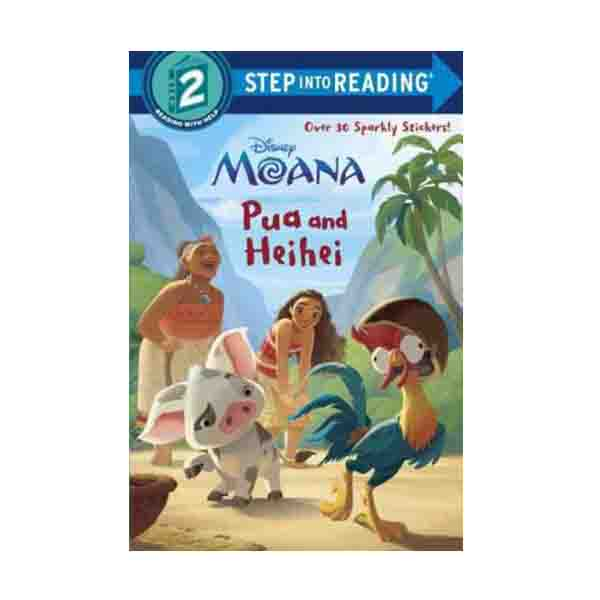 Step Into Reading 2 : Diseny Moana : Pua and Heihei (Paperback)