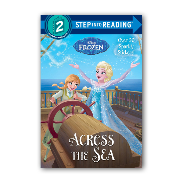 RL 1.5 : Step into Reading 2 : Disney Frozen : Across the Sea (Paperback)