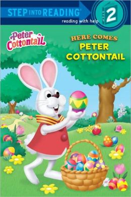 RL 1.5 : Step Into Reading 2 : Peter Cottontail : Here Comes Peter Cottontail (Paperback)