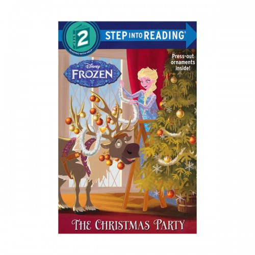 RL 1.5 : Step into Reading 2 :Disney Frozen : The Christmas Party (Paperback)