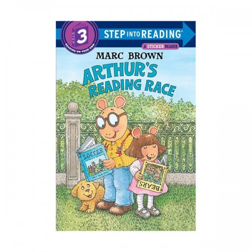 RL 1.5 : Step Into Reading 3 : Arthur's Reading Race (Paperback)