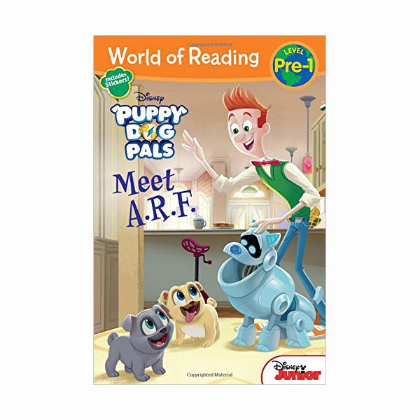 RL 1.5 : World of Reading Pre-Level 1 : Puppy Dog Pals Meet A.R.F. (Paperback)