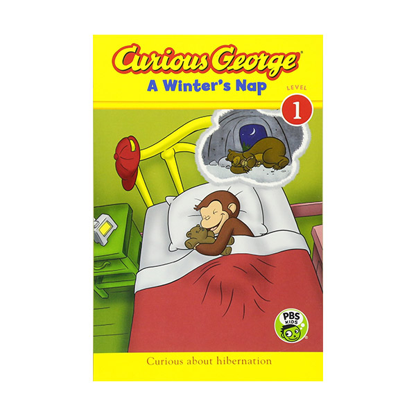 RL 1.6 : Curious George Early Reader Level 1 : A Winter's Nap (Paperback)