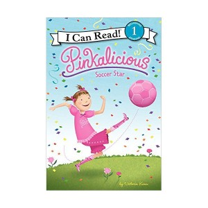 RL 1.6 : I Can Read Book Level 1 : Pinkalicious : Soccer Star (Paperback)