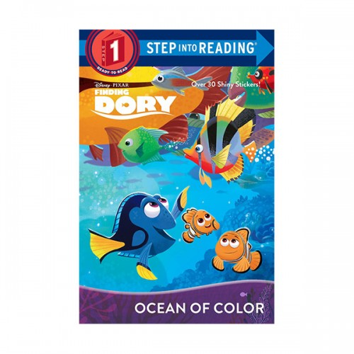 Step Into Reading 1 : Disney Fixar Finding Dory : Ocean of Color (Paperback)