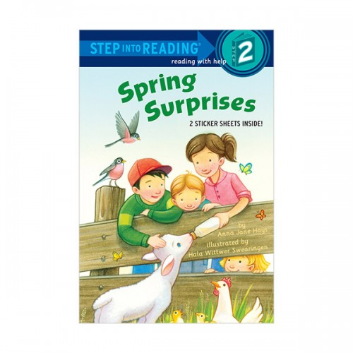RL 1.6 : Step Into Reading 2 : Spring Surprises (Paperback)