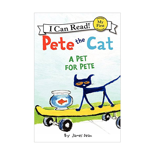 RL 1.7 : My First I Can Read : A Pet for Pete (Paperback)