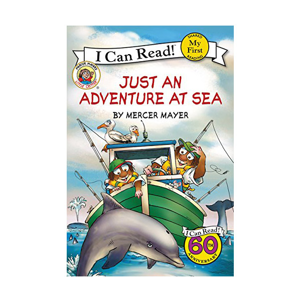 RL 1.7 : My First I Can Read : Little Critter : Just an Adventure at Sea (Paperback)