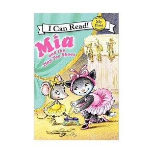 RL 1.7 : My First I Can Read : Mia and the Tiny Toe Shoes (Paperback)