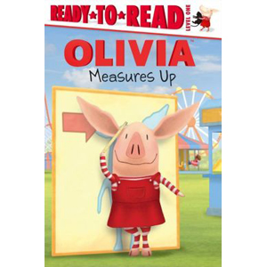 RL 1.7 : Ready to Read Level 1 : Olivia Measures Up (Paperback)