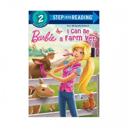 RL 1.7 : Step into Reading 2 : Barbie : I Can Be a Farm Vet (Paperback)