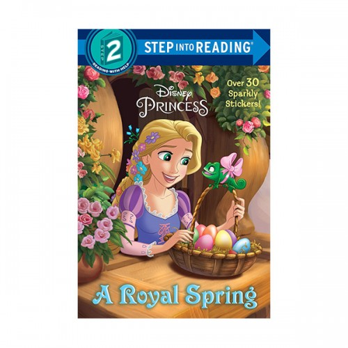 Step into Reading 2 : Disney Princess : A Royal Spring (Paperback)