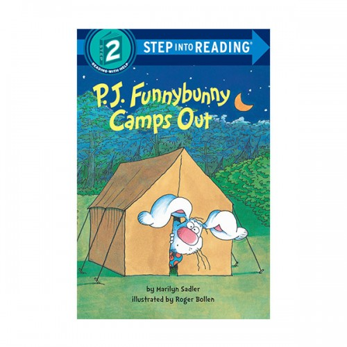 Step Into Reading 2 : P. J. Funnybunny Camps Out (Paperback)