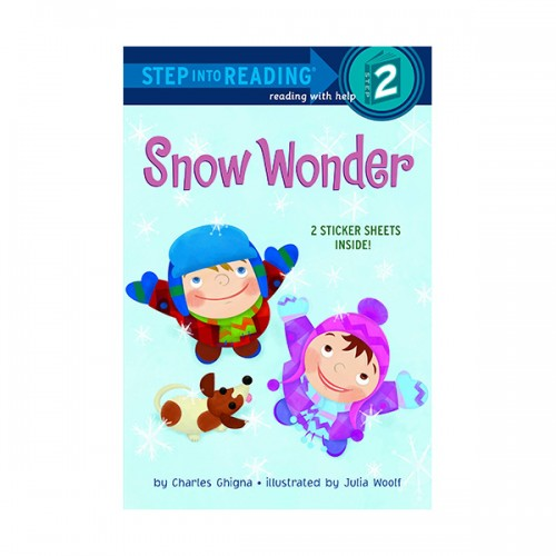 RL 1.7 : Step Into Reading 2 : Snow Wonder (Paperback)