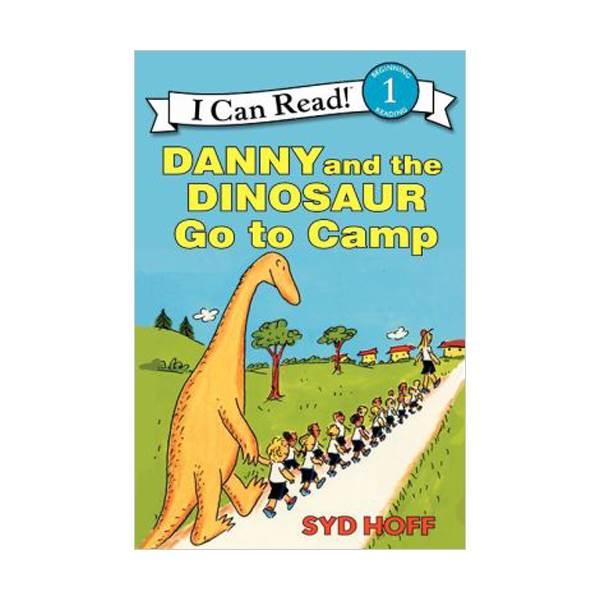 RL 1.8 : I Can Read Book Level 1 : Danny and the Dinosaur Go to Camp (Paperback)