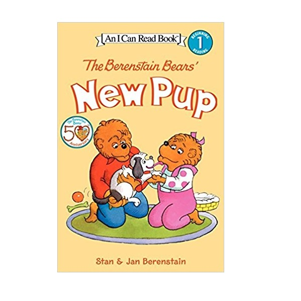RL 1.8 : I Can Read Book Level 1 : The Berenstain Bears' New Pup (Paperback)