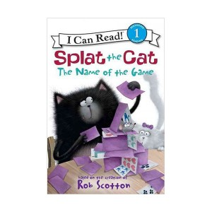 RL 1.8 : I Can Read Level 1 : Splat the Cat: The Name of the Game (Paperback)