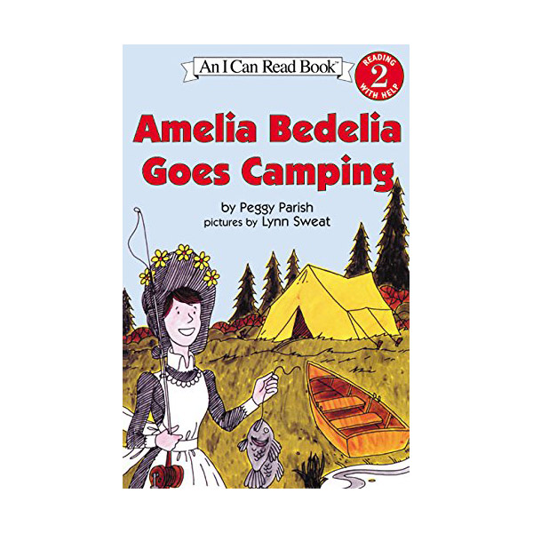 RL 1.8 : I Can Read Level 2 : Amelia Bedelia Goes Camping (Paperback)