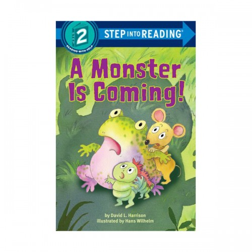 RL 1.8 : Step Into Reading 2 : A Monster is Coming! (Paperback)