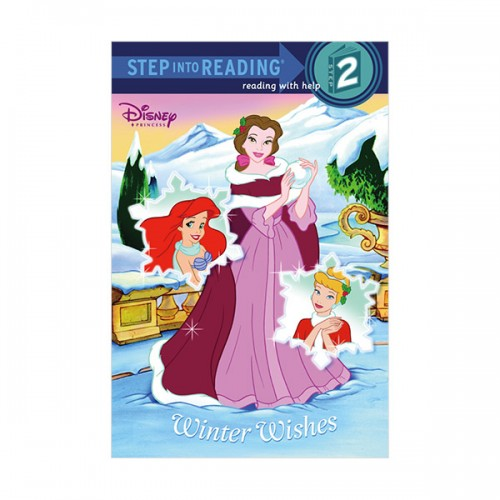 RL 1.8 : Step into Reading 2 : Disney Princess : Winter Wishes (Paperback)