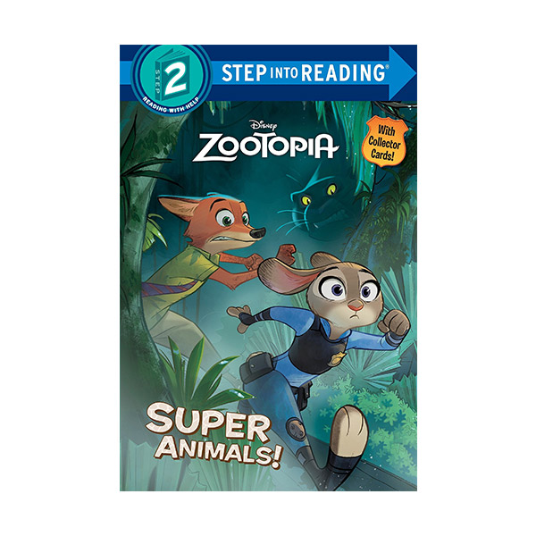 RL 1.8 : Step into Reading 2 : Disney Zootopia : Super Animals! (Paperback)