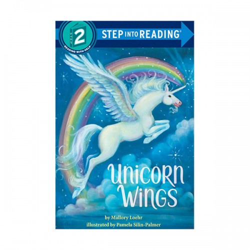 RL 1.8 : Step Into Reading 2 : Unicorn Wings (Paperback)
