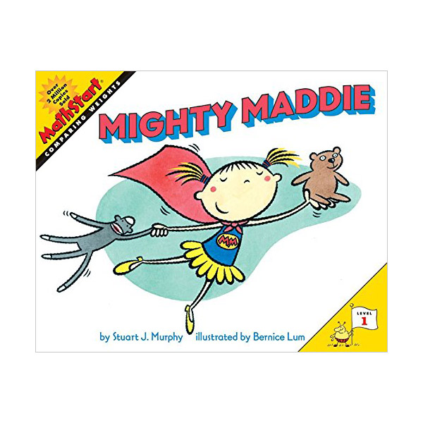 RL 1.9 : MathStart Level 1 : Mighty Maddie (Paperback)