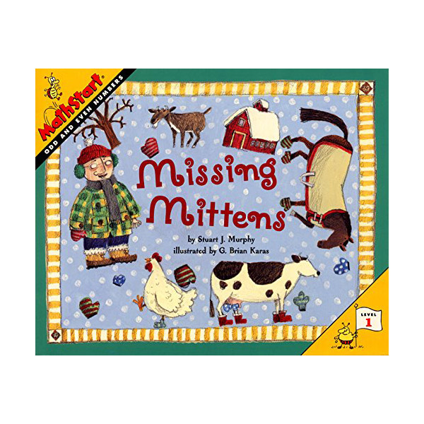 RL 1.9 : MathStart Level 1 : Missing Mittens (Paperback)