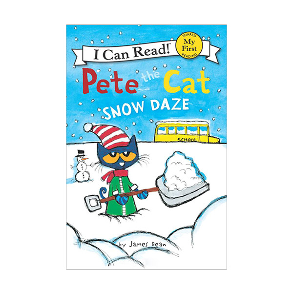 I Can Read My First : Pete the Cat : Snow Daze (Paperback)