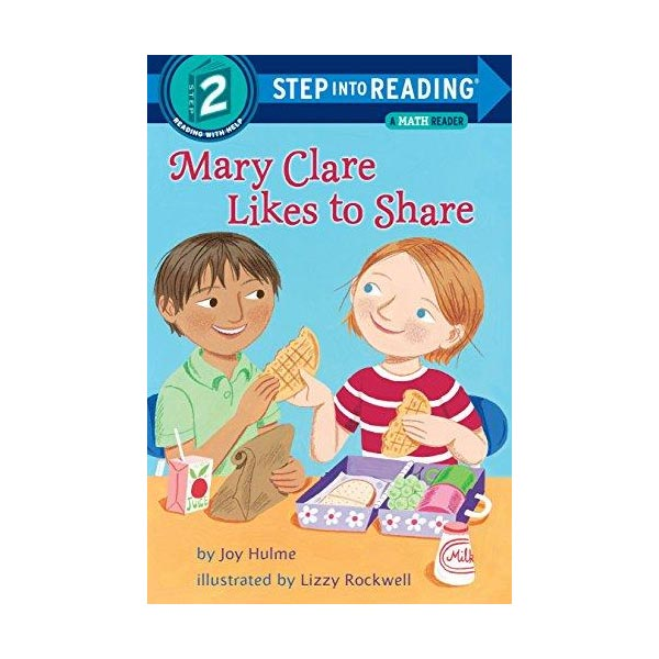 RL 1.9 : Step Into Reading 2 : Mary Clare Likes to Share : A Math Reader (Paperback)