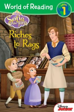 RL 1.9 : World of Reading Level 1 : Sofia the First Riches to Rags (Paperback)