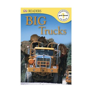 RL 2.0 : DK Readers Level 1 : Big Trucks (Paperback)