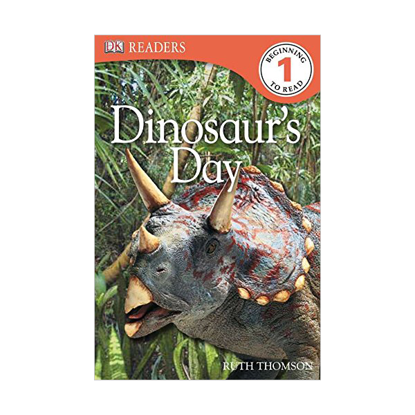 RL 2.0 : DK Readers Level 1 : Dinosaur's Day (Paperback)