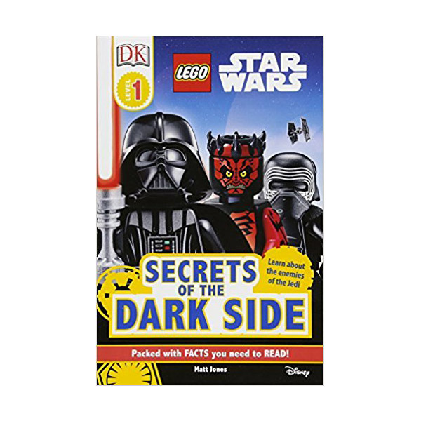 RL 2.0 : DK Readers Level 1 : LEGO Star Wars Secrets of the Dark Side (Paperback)