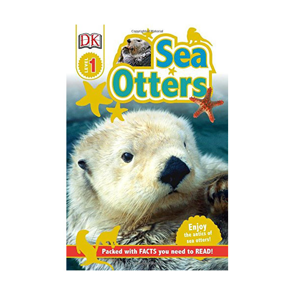 RL 2.0 : DK Readers Level 1 : Sea Otters (Paperback)