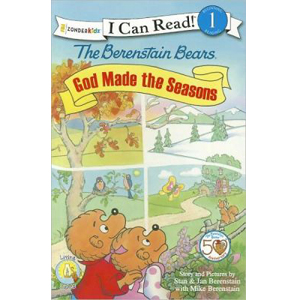 RL 2.0 : I Can Read Book Level 1 : The Berenstain Bears, God Made the Seasons (Paperback)