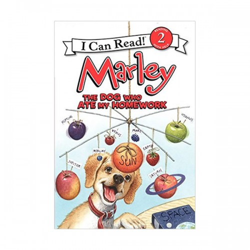 I Can Read Book Level 2 : Marley: The Dog Who Ate My Homework (Paperback)