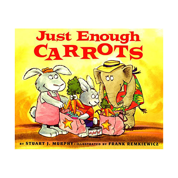 RL 2.0 : MathStart Level 1 : Just Enough Carrots (Paperback)