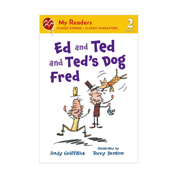 RL 2.0 : My Readers Level 2 : Ed and Ted and Ted's Dog Fred (Paperback)
