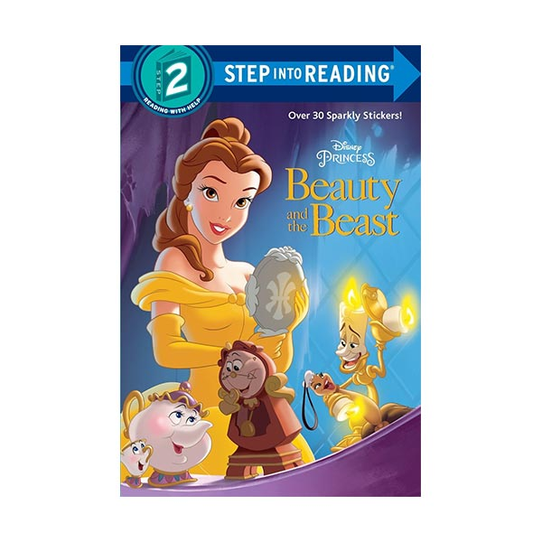 RL 2.0 : Step Into Reading 2 : Disney Princes : Beauty and the Beast (Paperback)