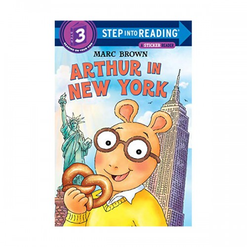 RL 2.0 : Step Into Reading 3 : Arthur in New York (Paperback)