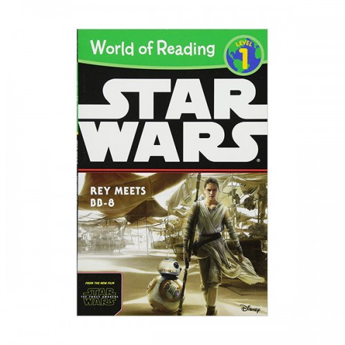 RL 2.0 : World of Reading Level 1 : Star Wars The Force Awakens : Rey Meets BB-8 (Paperback)