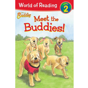 World of Reading Level 2 : Disney Buddies Meet the Buddies (Paperback)
