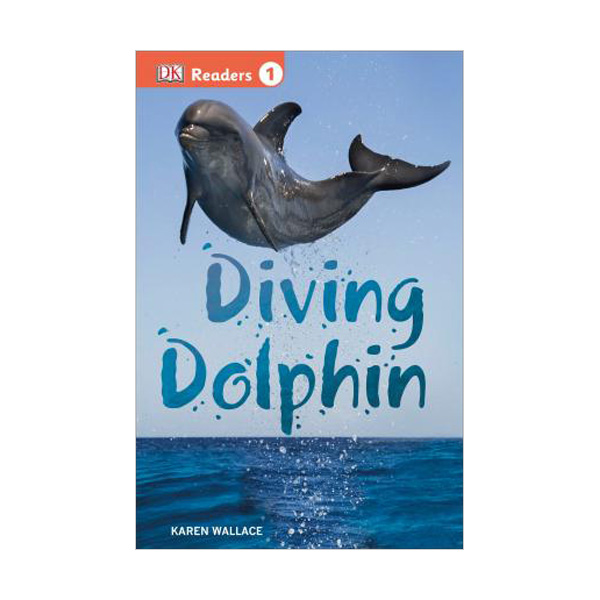 RL 2.1 : DK Readers Level 1 : Diving Dolphin (Paperback)