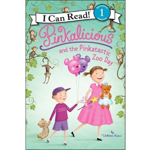 RL 2.1 : I Can Read Book Level 1: Pinkalicious and the Pinkatastic Zoo Day (Paperback)